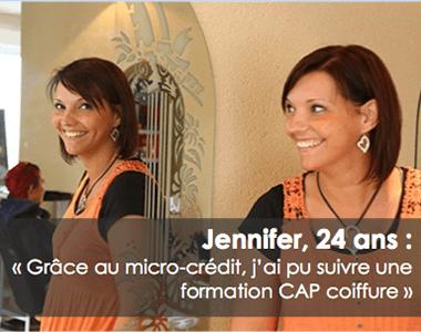 témoignage de jennifer micro-credit