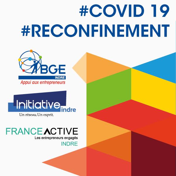 Initiative Indre, France Active Indre et BGE Indre restent à vos côtés