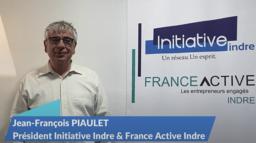 Jean-François PIAULET, Président Initiative Indre et France Active Indre vous présente ses voeux 2021