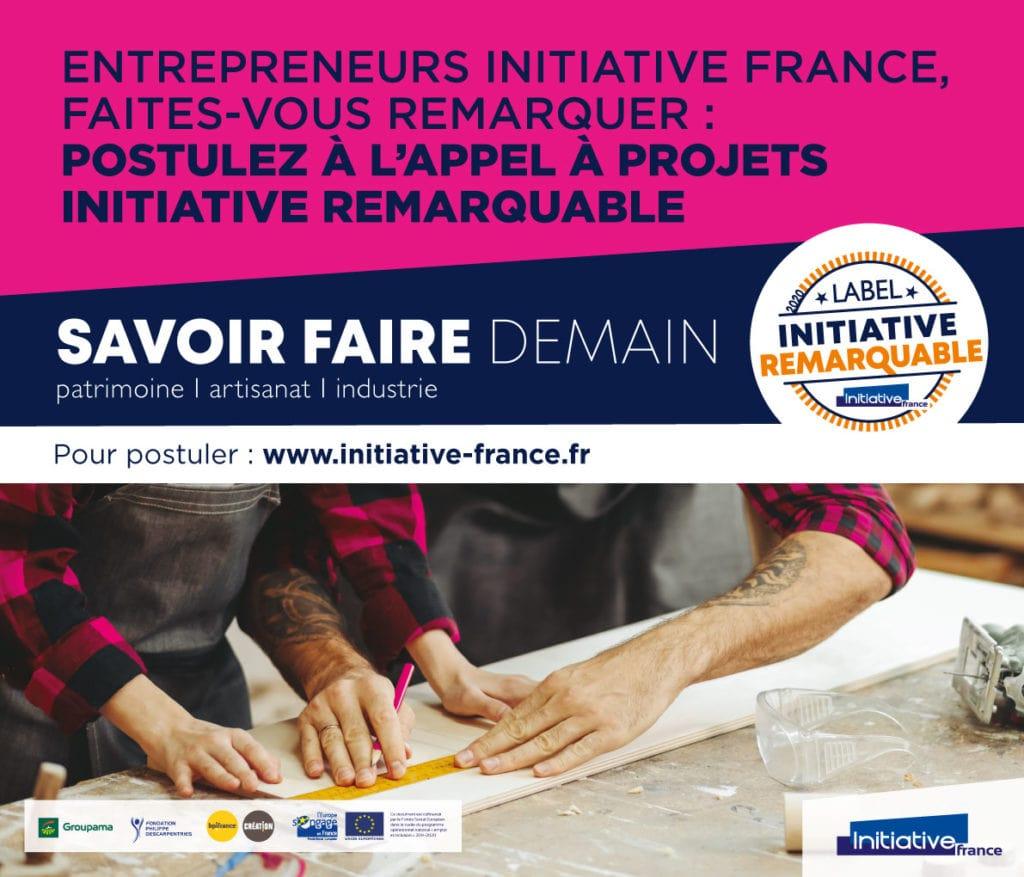 «Savoir faire demain» : participez à l'appel à projet Initiative Remarquable avant le 14 mars