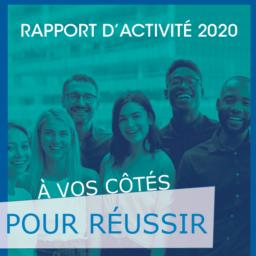 visuel rapport d'activité 2020