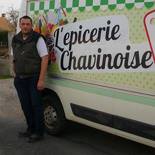 Frédéric Hudes l'Epicerie Chavinoise